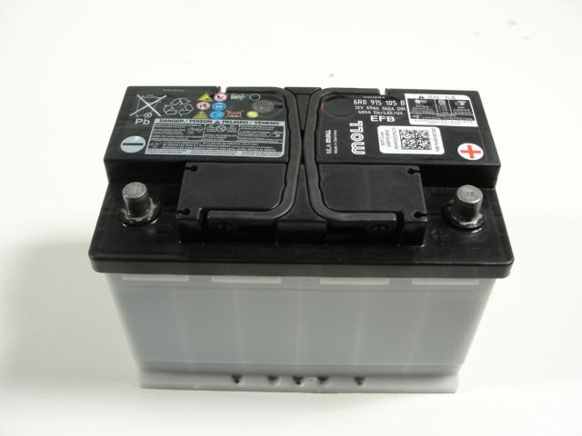 vw audi efb batterie starterbatterie 69ah 360 680a start. Black Bedroom Furniture Sets. Home Design Ideas
