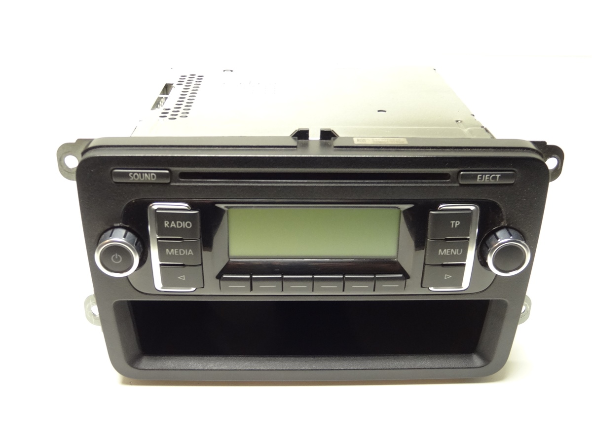 vw t5 facelift autoradio radio rcd 210 rcd210 cd mp3. Black Bedroom Furniture Sets. Home Design Ideas