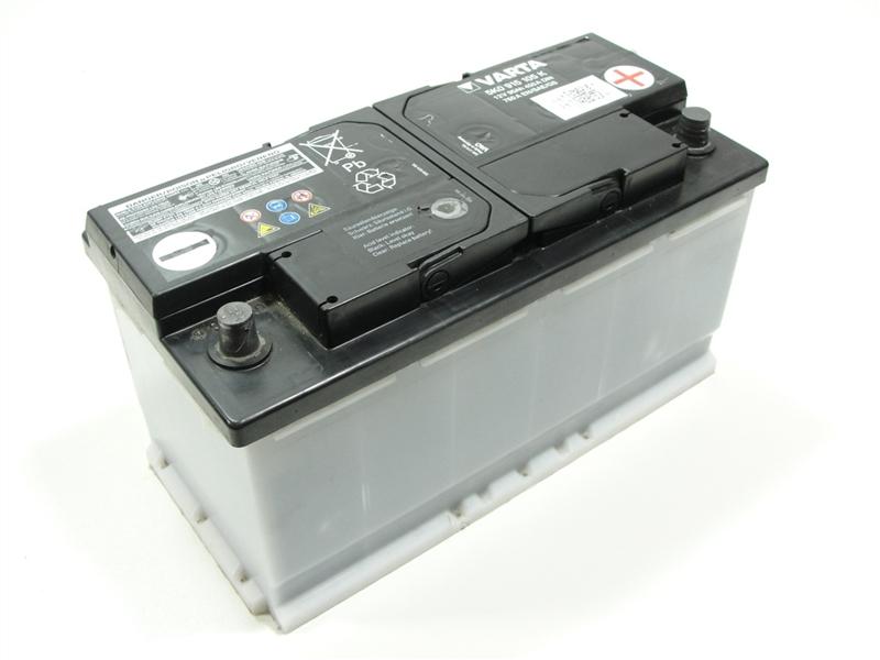 vw varta batterie starterbatterie akku 12v 95ah 450a. Black Bedroom Furniture Sets. Home Design Ideas