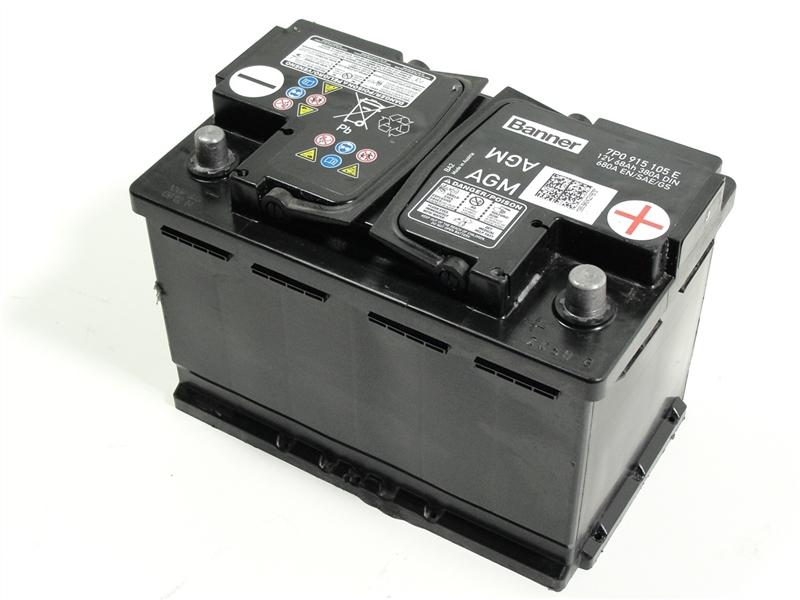 vw golf 6 7 tiguan agm batterie akku autobatterie 68ah. Black Bedroom Furniture Sets. Home Design Ideas