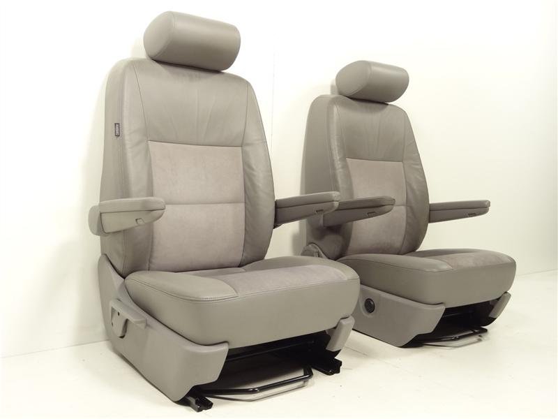 vw t5 multivan highline sitze sitz ledersitze leder vorne. Black Bedroom Furniture Sets. Home Design Ideas